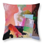 Black Glove 2 Throw Pillow