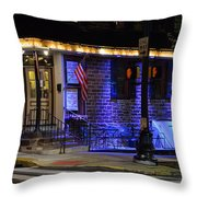Black Horse Tavern  Throw Pillow