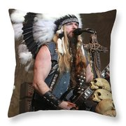 Black Label Society - Zak Wylde Throw Pillow