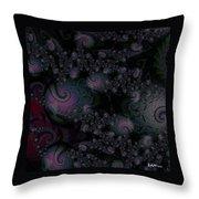 Black Light Reveal Throw Pillow