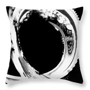 Black Magic 309 Inverted Throw Pillow