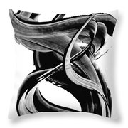 Black Magic 314 By Sharon Cummings Throw Pillow