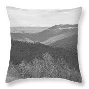 Black Mountain - Kentucky Bw Throw Pillow