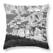 Black Mountains Of Arizona Throw Pillow