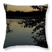 Black Oak Throw Pillow