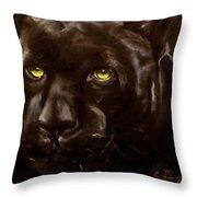 Black Panther Throw Pillow