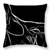 Black Passion Throw Pillow