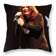 Black Sabbath - Ozzy Osbourne Throw Pillow