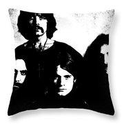 Black Sabbath Throw Pillow
