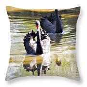 Black Swan 1 Throw Pillow