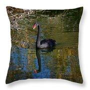Black Swan 4 Throw Pillow