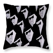 Black Tie Affair Throw Pillow