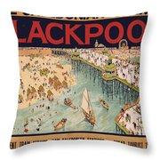 Blackpool Throw Pillow