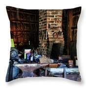 Blacksmith - All The Tools Throw Pillow