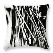 Blacksmith Iron  Throw Pillow