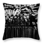 Blacksmith's Tools Throw Pillow
