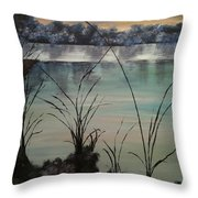 Herrick Lake Throw Pillow