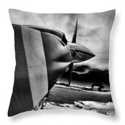 Blade Flyer Throw Pillow