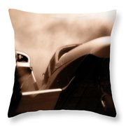 Blade Landing Throw Pillow
