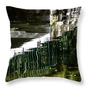 Blades Submerged Throw Pillow