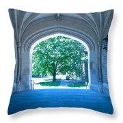 Blair Hall Arch Throw Pillow