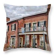 Blair Moore House Throw Pillow