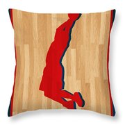 Blake Griffin Los Angeles Clippers Throw Pillow