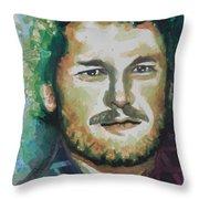 Blake Shelton  Country Singer Throw Pillow