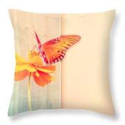 Blank Greeting Card Throw Pillow