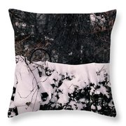 Blanketed Creepers Throw Pillow