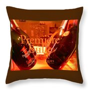 Cheers.. Throw Pillow