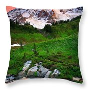 Blazing Dawn Throw Pillow
