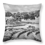 Bleak Topiary  Throw Pillow