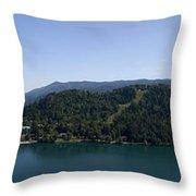 Bled Vista Throw Pillow