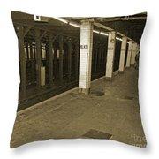 Bleecker Street Throw Pillow