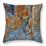 Bleeding Stone Throw Pillow