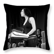 Bleeding Through's Marta Peterson Throw Pillow