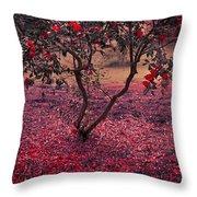 Bleeding Tree Throw Pillow