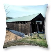 Blenheim Bridge Throw Pillow