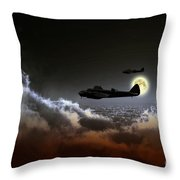 Blenheim Nightfighters Throw Pillow