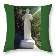Blessed Francis Xavier Seelos C.ss.r. - New Orleans La  Throw Pillow