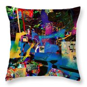 Blessed Is He Who Distinguishes Between The Sacred And The Profane 3 Throw Pillow
