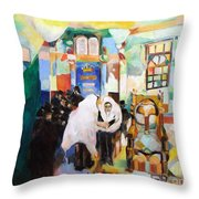 Blessed Is He Who Has Come Throw Pillow