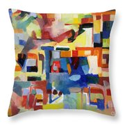 Blessed Is He Who Redeems And Rescues 1 Throw Pillow