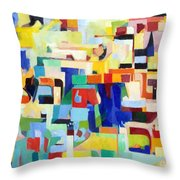 Blessed Is He Who Redeems And Rescues 4 Throw Pillow