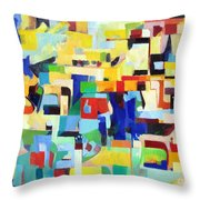 Blessed Is He Who Redeems And Rescues 7 Throw Pillow