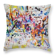 Blessed Is Our G-d Who Created Us For His Glory Throw Pillow