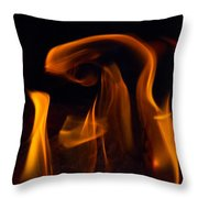 Blessed Mother And Child Throw Pillow