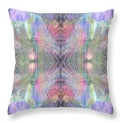 Blessed Mother Prayer 4 Alchemy Throw Pillow
