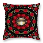 Blessed Sunrise Pop Art Throw Pillow